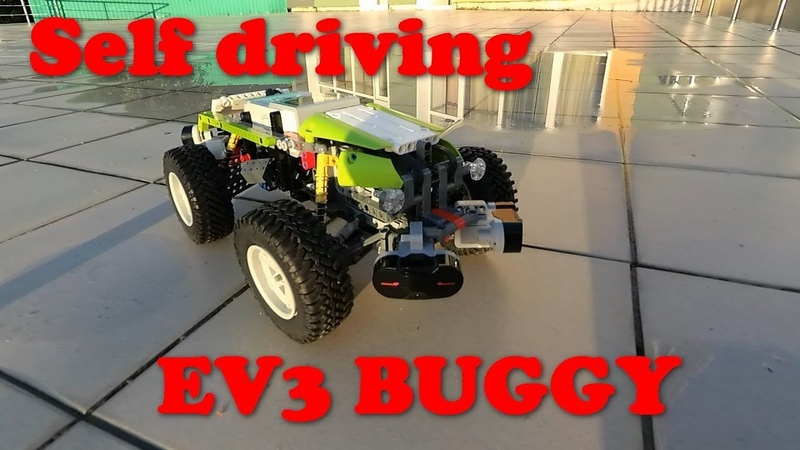 EV3 self driving buggy, new programm