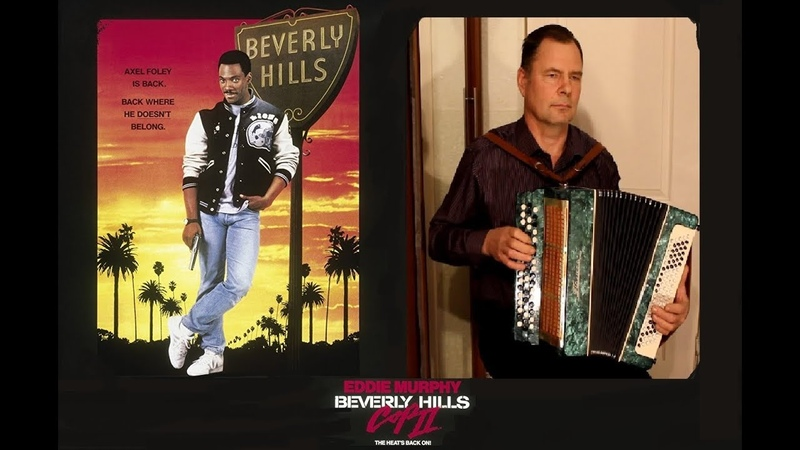 Beverly Hills Cops Theme Song Cover accordion bayan trumpet and flute
