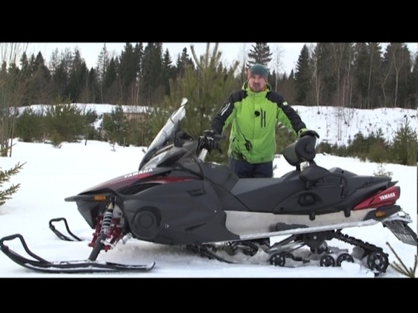 Два колеса. Вып. 056. Снегоход Yamaha RS Venture TF