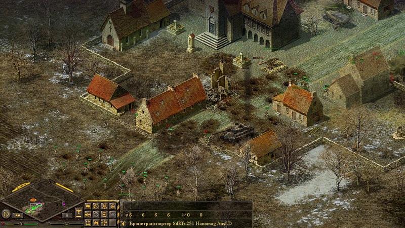 Блицкриг 79 Перехват бронетанковой группировки