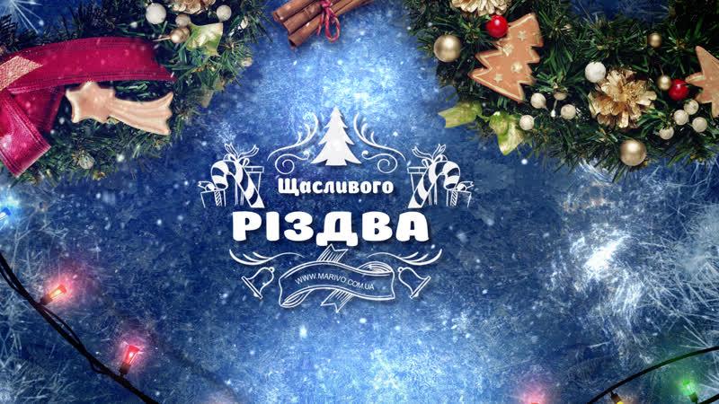 З Різдвом Христовим! Студія Marivo Ми робимо ваші спогади!