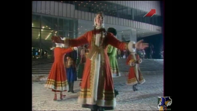 03. Фольклорная группа Горница. Ой, на горе-то калина (Голубой огонёк, 1989)
