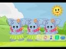 Детская песня на китайском. О слоненке