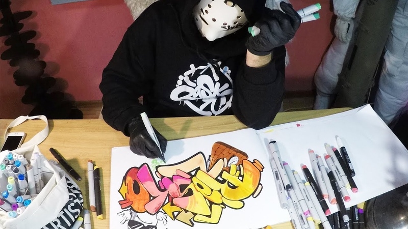Rasko Graffiti Sketch 2019