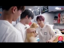 A whole 45 seconds video of kihyun and minhyuk cooing over a dog bless