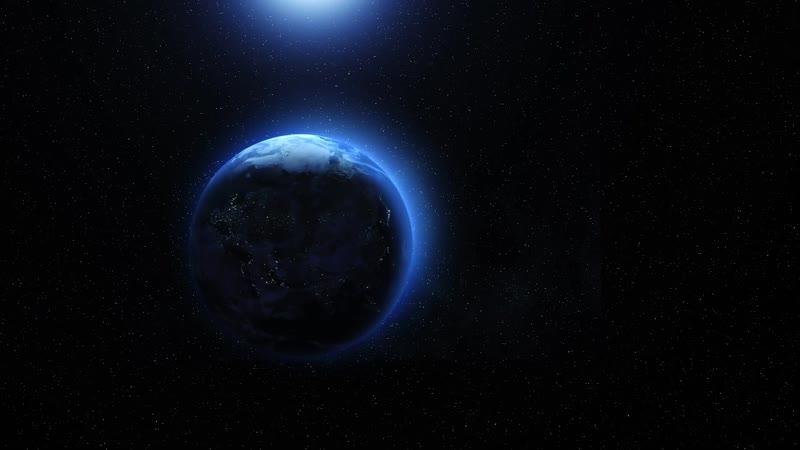 Земля вращается далеко / Earth spin far