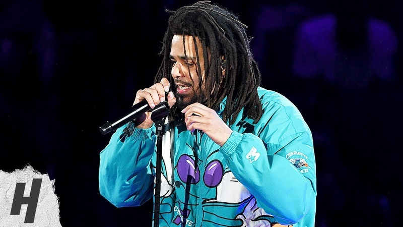 J Cole AMAZING Full Halftime Performance at 2019 NBA All Star Game