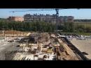 Ход строительства торгового центра в ЖК Государев дом