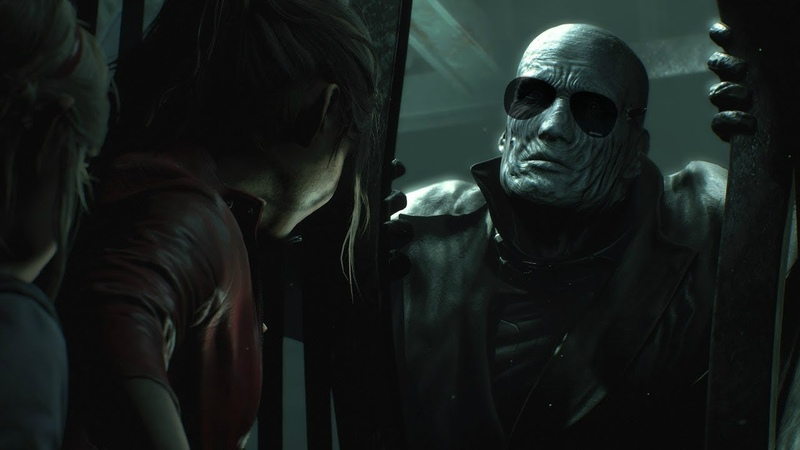 Mr. X has great audio cues to let you know if hes nearby... - Resident Evil 2