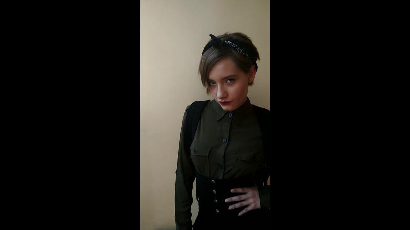 Макияж для Даши на fashion съёмку