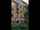 Пожар в казарме