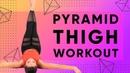 Пирамидная тренировка бедер со всех сторон - 600 повторений. Inner Outer Thigh Pyramid Workout - 600 reps!
