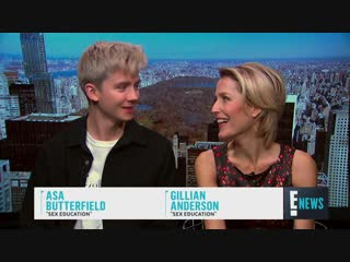 Gillian Anderson Calls Sex Education a British Love Letter E News Eonline (index_1_av) (via Skyload)