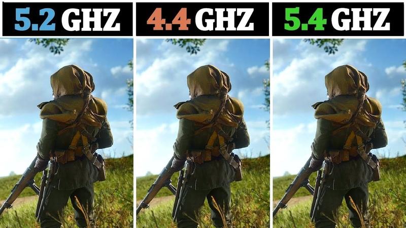 I7 8700K (5.2Ghz) vs R7 2700X (4.4Ghz) vs I7 8086K (5.4Ghz) | Tested 15 Games |