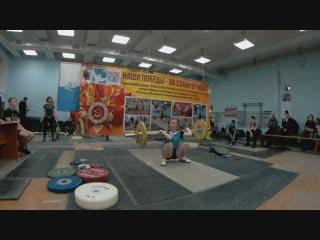 Шарипова Диляра, толчок 53 кг