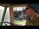 Езда на Т-150К (осторожно мат)