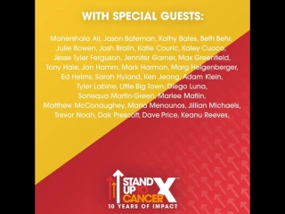 Show update! Keanu Reeves and more will join us for our live