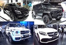 TOP 6 new Mercedes SUVs AMG, Brabus, 500G, GL400, GLA220, GLA45, GLC300, GLE400 2016, 2017 model