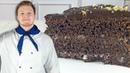 Шоколадный ТОРТ на КИПЯТКЕ быстрого приготовления. В духовке так РАСТЕТ, что НЕ остановишь