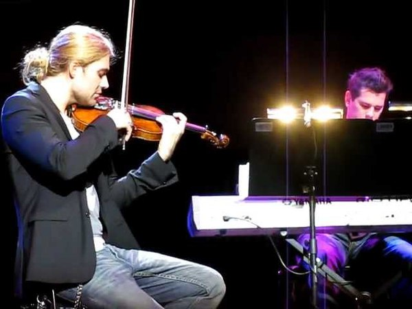 David Garrett John Haywood - Somewhere - Kopenhagen - 20.11.11