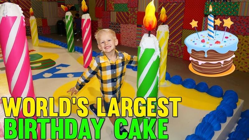 Giant Life Size Birthday Cake!!