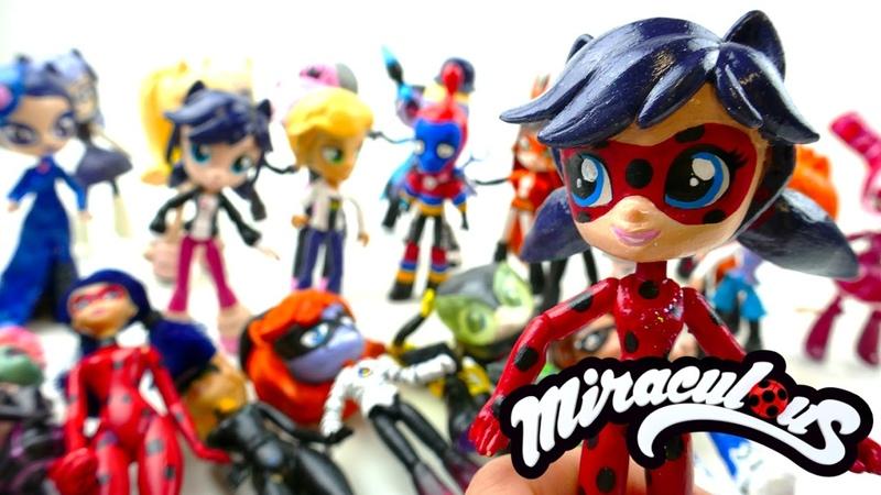 Miraculous Ladybug Toys Season 1 and Season 2 Custom Doll Review | Evies Toy House