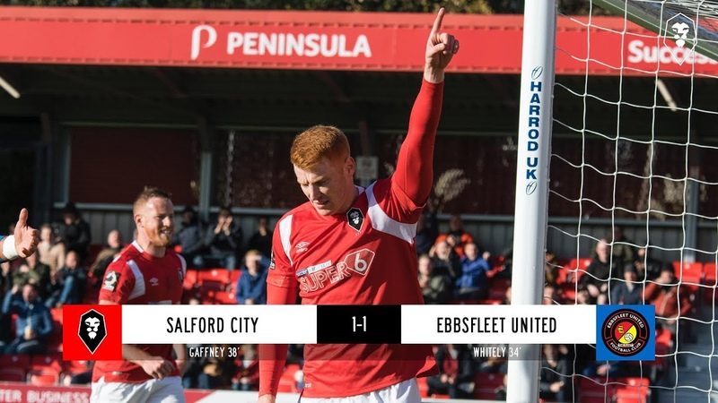 Salford City 1-1 Ebbsfleet United - National League 27/10/18