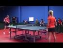 Уроки настольного тенниса на Новой Риге. Урок 4