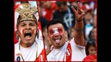 PERU Football Fans Songs and Dances - Red Square 2018
