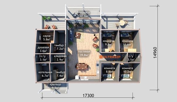 Взяли в работу красивый и современный дом в скандинавском стиле в Ромашках👌🏻 Фундамент УШП еще осенью смонтировал ULTRAFUNDAMENT https://ultrafundament.ru/ #ультрасип_ромашки