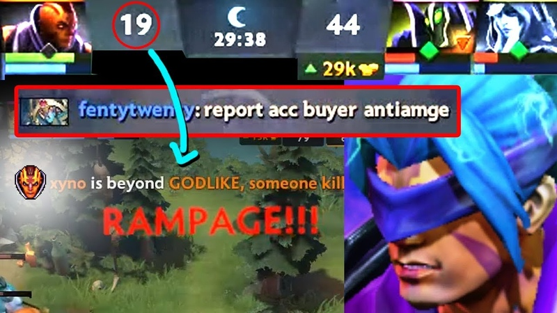 He feeded so much they called him acc buyer,but when he started to play.. AM Crazy 30k gold Comeback