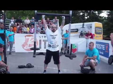U90kg Strongman World Championships Qualifier Finland 2018 PT1
