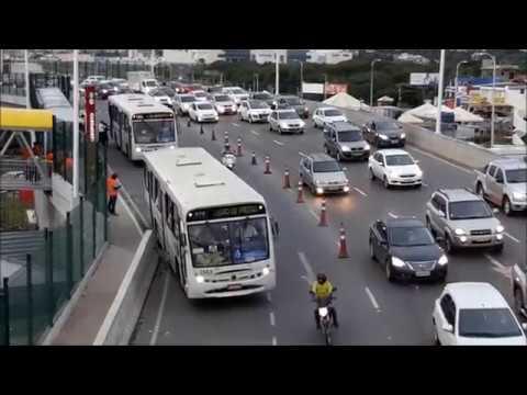 Estação Aeroporto - Viaduto da Avenida Santos Dumont e Rua Gerino de Souza Filho