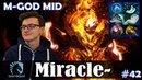 Miracle - Shadow Fiend MID | M-GOD | Dota 2 Pro MMR Gameplay 42