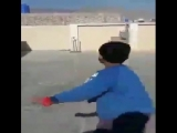 Wow! A six-year-old wrist spinner from Pakistan