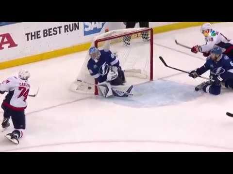 Andrei Vasilevskiys clutch save in game 5 vs Capitals (2018)
