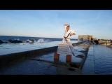 Улётрое тамешивари в Кёкусинкай карате на море. Подготовка бойца. https://vk.com/oyama_mas