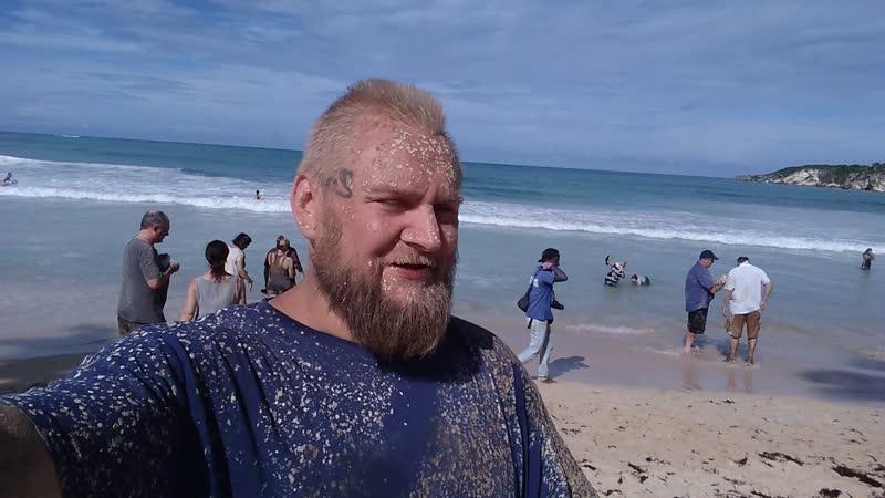 пляж макао грязный Бэни