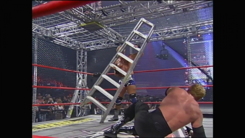 WCW SLAMBOREE 2000 - World Heavyweight Championship - Jeff Jerrett vs DDP vs David Arquette