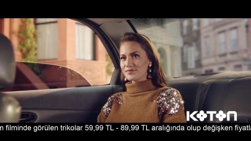 Фахрие Эвджен в новой рекламе | Şimdi Triko Takımlarda Koton Fiyatları Moda ModaKotonda