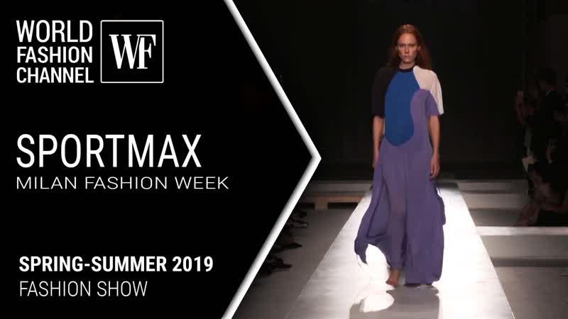 Sportmax Spring-Summer 2019 | Milan Fashion Week