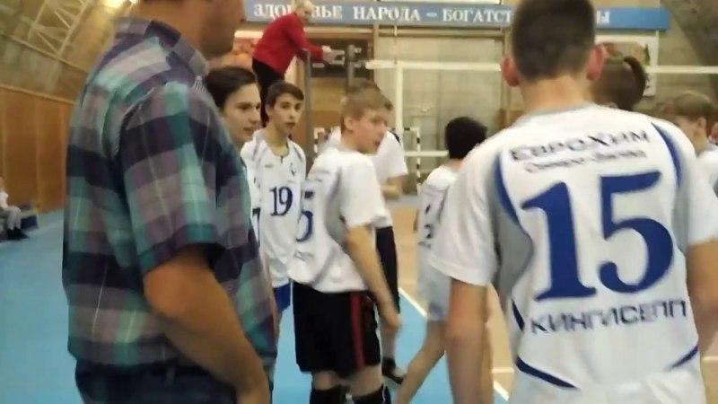 Юноши Факела МОО Кингисеппская федерация волейбола в Сланцах