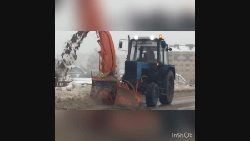 Новый шнеко ротор на дорогах Арзамаса