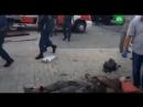 Первые минуты после убийства Захарченко