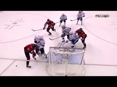 Andrei Vasilevskiys amazing glove save in game 6 vs Capitals (2018)