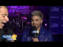 Adam Lambert at National Concert Day in New York City 5 мая 2017 - Access Hollywood