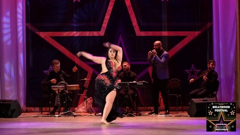 Olga Komissarova on Gala show bellywood festival 2018