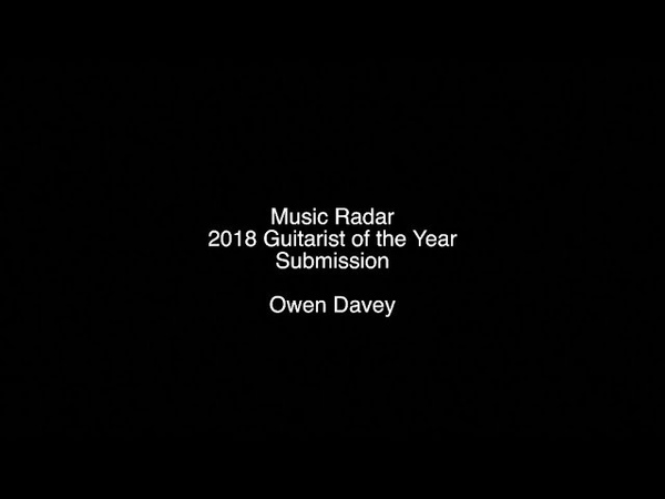 Young Guitarist of the Year Submission - Owen Davey