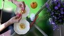 Микрогидрин - наглядный эксперимент с яблоком!