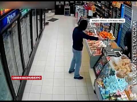 24 04 2018 Вооруженное разбойное нападение в Севастополе Полиция задержала группу злоумышленников
